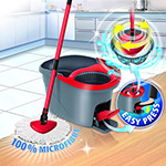 easy wring and clean mop obrotowy